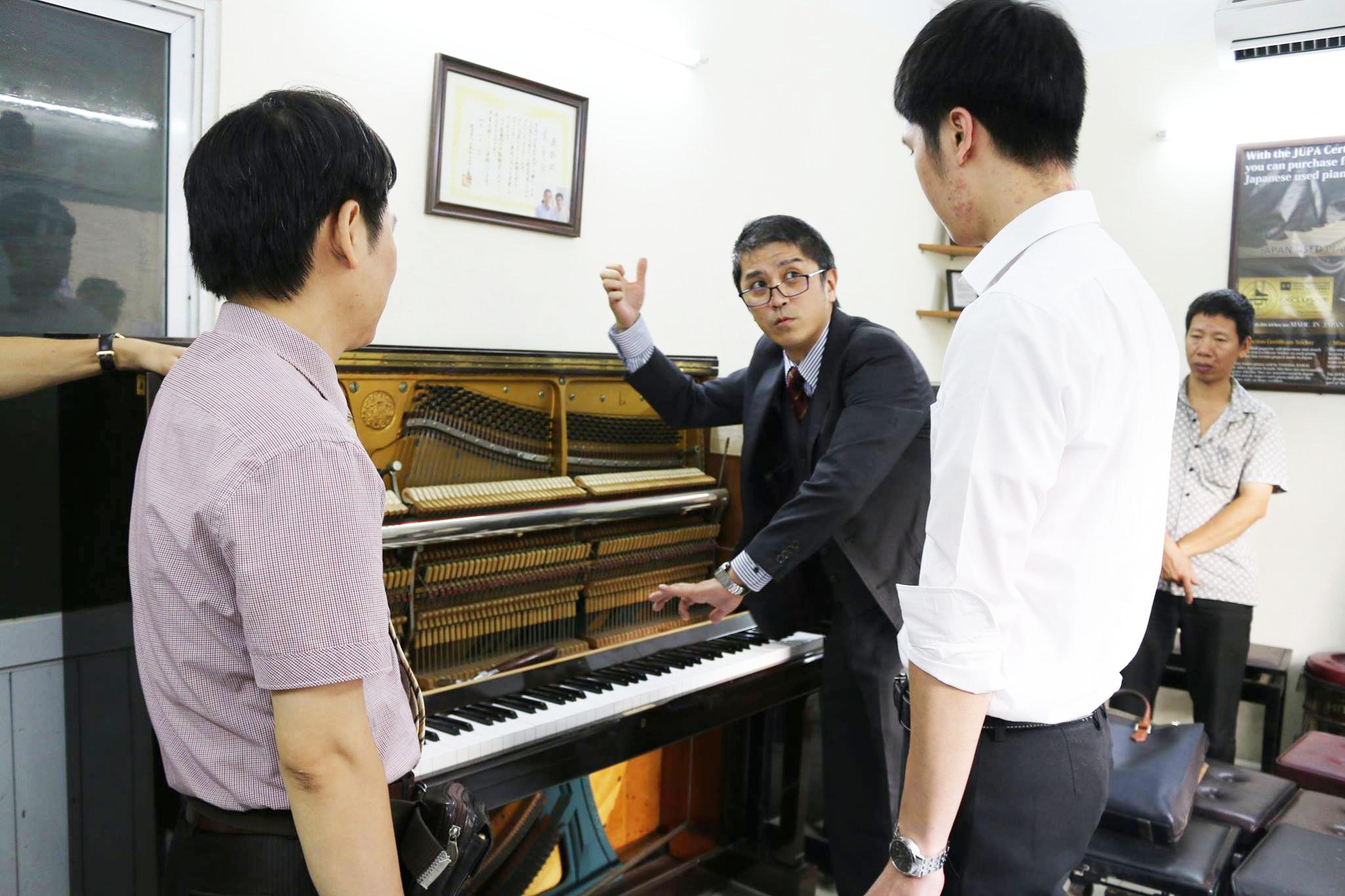 Cách chọn Piano cơ